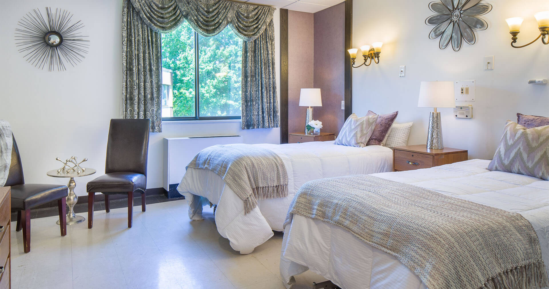 Newly decorated and refurbished rooms