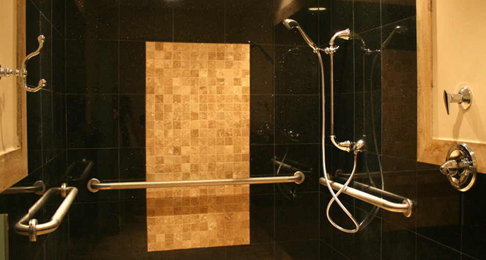 Safe, beautiful new showers