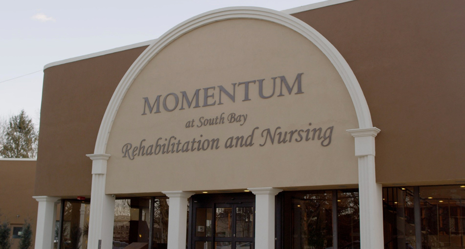 Front entrance at Momentum at South Bay