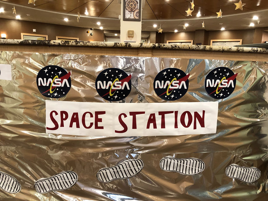 NASA space party