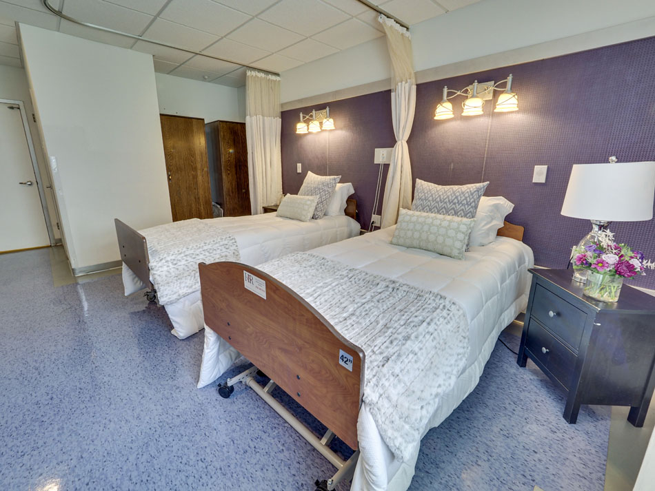 Guest room with beds